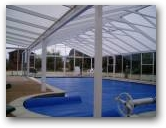 The pool enclosure is completed and now the pool is available for year round use  » Click to zoom ->